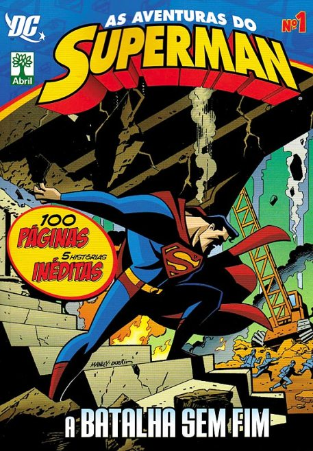 AS AVENTURAS DO SUPERMAN nº01 - EDITORA ABRIL
